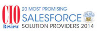 20 Most Promising Salesforce Solution Providers - 2014