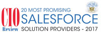 20 Most Promising Salesforce Solution Providers 2017